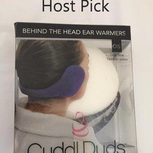 Behind the head ear warmer (Cuddl Duds) host pick